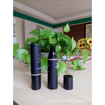 Black Matte Surface Handling 50ml Black Foundation Skin Care Tube