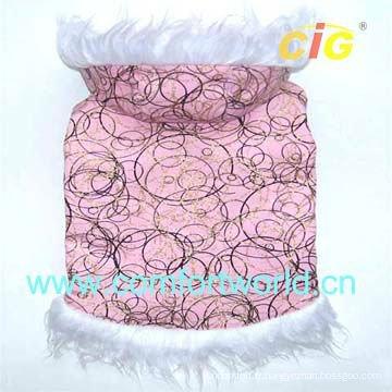 Vêtements de coton pour animaux de compagnie agréable et confortable