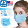 Disposable Anti Pollution Ear Loop Safety 3-Ply Mask