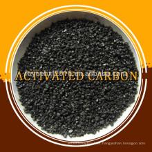 El fabricante suministra carbón activado granular a base de carbón de bajo contenido de ceniza y alto yodo para el tratamiento de agua y gas