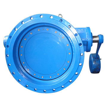 Double Flange Tilting Check Valve, with Lever and Counter Weight