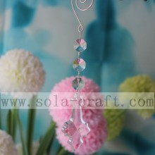 New Fashion Design for for Crystal Beaded Trim Plastic Faceted Crystal Chandelier Lamp Dangle Drop Prism supply to Togo Supplier