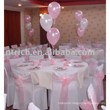 100%polyester chair covers,hotel/banquet chair covers,organza chair ties