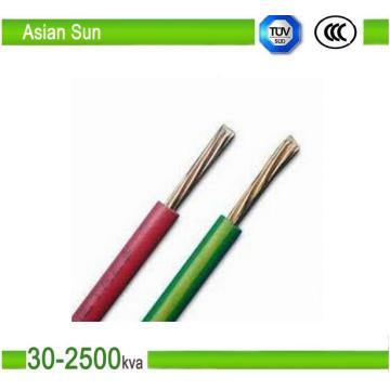 BS / DIN / Ice Electric Cable conductor de cobre PVC Multi Strand Cable