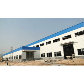 Prefabricated Steel Structure Frame Workshop Building (KXD-SSW9)