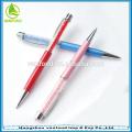 Meilleure vente luxe / stylo bille avec crystal comme souvenirs de mariages