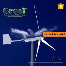 Horizontale Achsen-Windkraftanlage der heißen Achsen-20kw 150rpm mit BV