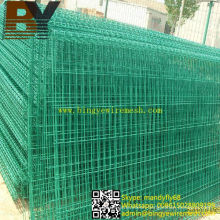 PVC Coated Double Circle Wire Fence