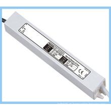 18W impermeável LED fonte de alimentação / entrada 110V ~ 250V saída 24V
