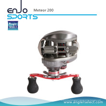 Angler Select Meteor 6.3: 1 High Gear Ratio Bobine de pêche Bobine de bavure (SBC-MRP200)
