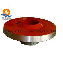 Abrasive slurry pump parts, frame liner insert