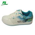 blue modern big brand sneaker shoes