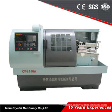 China CNC Lathe Machine CK6140A Servo Motor High Precision In March Expo