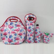 Lightweight food storage use Neoprene Lunch tote bag