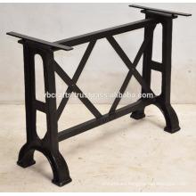 Cast Iron Table Leg Vintage Industrial Style