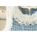 100% Baumwolle hohe Qualität billige Kind Party Kleid von China Mädchen Winterkleid