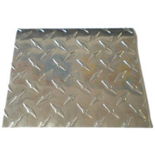 Embossed Aluminum Plate with 0.024-1.2mm Thicknesses, VDF, PE and Acrylic Coating Face