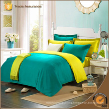 solid color bedding set factory manufacturer soft bedding set