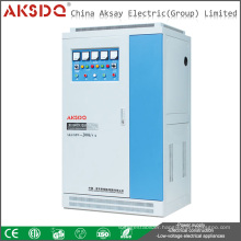2016 New SVC Industry Use 50kva High Capacity 50/60Hz Automatic AC Low Voltage Stabilizer Yueqing