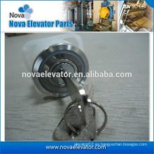 Interruptor de parada del elevador, Interruptor de llave para la cabina