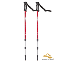 Best Price on for Foldable Alpenstock Lightweight Trekking Pole Adjustable Hiking Walking Stick supply to Equatorial Guinea Suppliers