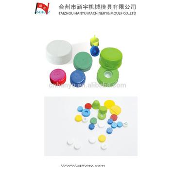 Tapa de la botella de plástico