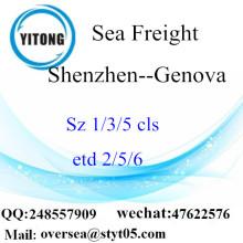 Shenzhen Port LCL củng cố để Genova