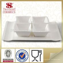 Wholesale vaisselle irrégulière en forme de vaisselle restaurant sauce au soja bol