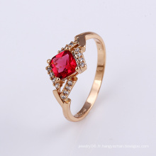 Top Conception Belle Cristal Or Bijoux Finger Ring Design pour les femmes -11824