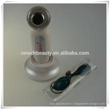 Appareil de soins de la peau ultrasonique à photons facturable équipement de spa beauté