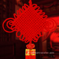 Noeud rouge chinois festif