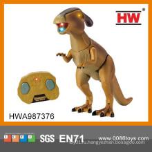 Новый дизайн Инфракрасный 48CM 2CH RC Робот игрушки динозавров со светом и звуком