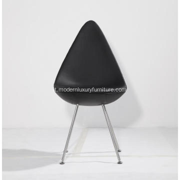 Design danese imbottito Arne Jacobsen Drop Chair Replica