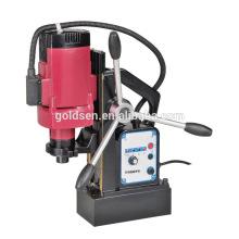 12-55mm 1500w Tapping Máquina de perfuração magnética do núcleo de 16mm Máquina de perfuração magnética elétrica mini GW8080A