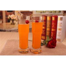 Coupe de verre de bière à jus d'eau claire pour boire de la verrerie