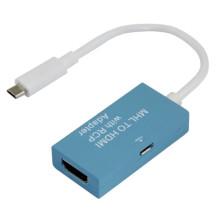 MHL HDMI кабель адаптера с Rcp (факультативный шесть цветов)