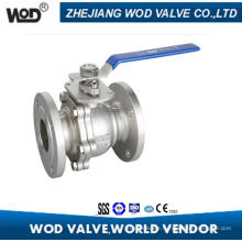 2PC API Flange Ball Valve with ISO5211