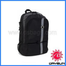 Durable Backpack Black Retro Stripe Diaper Bag, best diaper bag