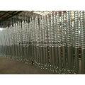 Piles à vis hélicoïdal en acier galvanisé