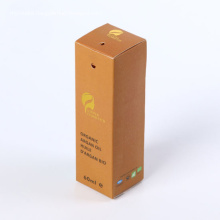Lady Kraft Paper Oil Hair Care Product Box