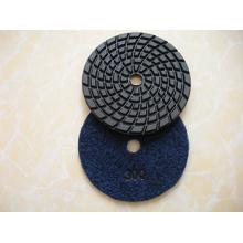 Coussinets de polissage flexibles en mousse humide ou sec pour polir et meuler la pierre