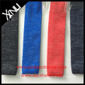 Polyester Knit Tie Pattern in Mixed Two Colors Yarns Rayon Knitted Tie
