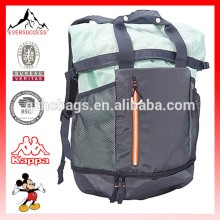 Custom Sport Backpack with Bottom Shoes Compartment