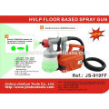 JS Electric 500W HVLP Paint Sprayer 800ml Capacidad Spray Gun, JS-910FF