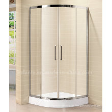 8mm gehärtetes Glas Einfache Duschraum mit Edelstahlrahmen (LTS-022)