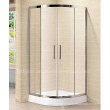 8mm Tempered Glass Simple Shower Room with Stainless Steel Frame (LTS-022)