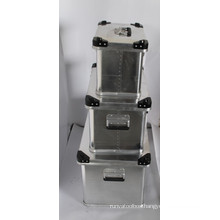 aluminum transport boxes
