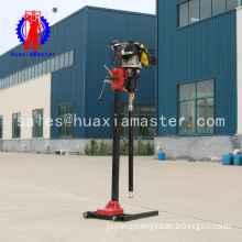 New condition BXZ-2L backpack core sample drilling rig/ mine exploration machine/portable knapsack core drill