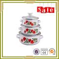Utensílios de cozinha autênticos de quanlity top enamelware feitos na china