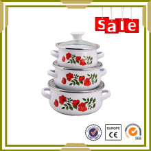 Top Quanlity Emailware authentische Küche Kochgeschirr in China hergestellt